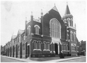 Marlborough Road Wesleyan Chapel around 1900