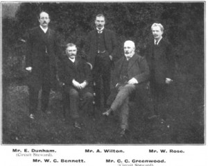 A group of Trustees around the start of the twentieth century